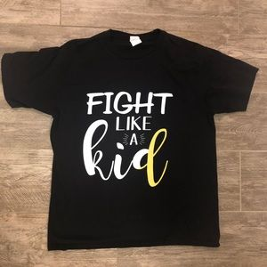 Childhood cancer awareness shirt